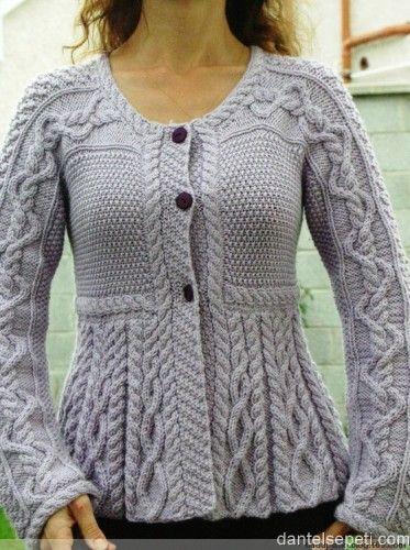 En Sevilen El Orgusu Hirka Modelleri M Visible Com Vogue Knitting Moda Stilleri Ucretsiz Orgu