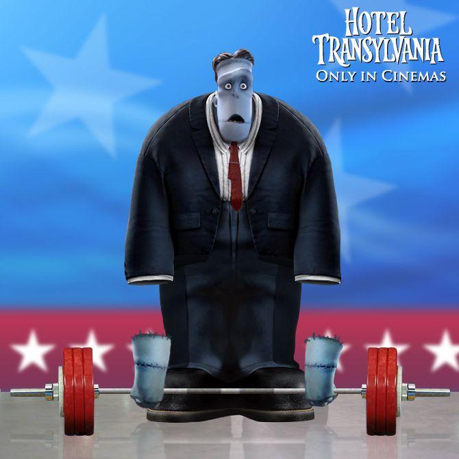 Hotel Transylvania. Trailer/Clips/Character Posters/Stills