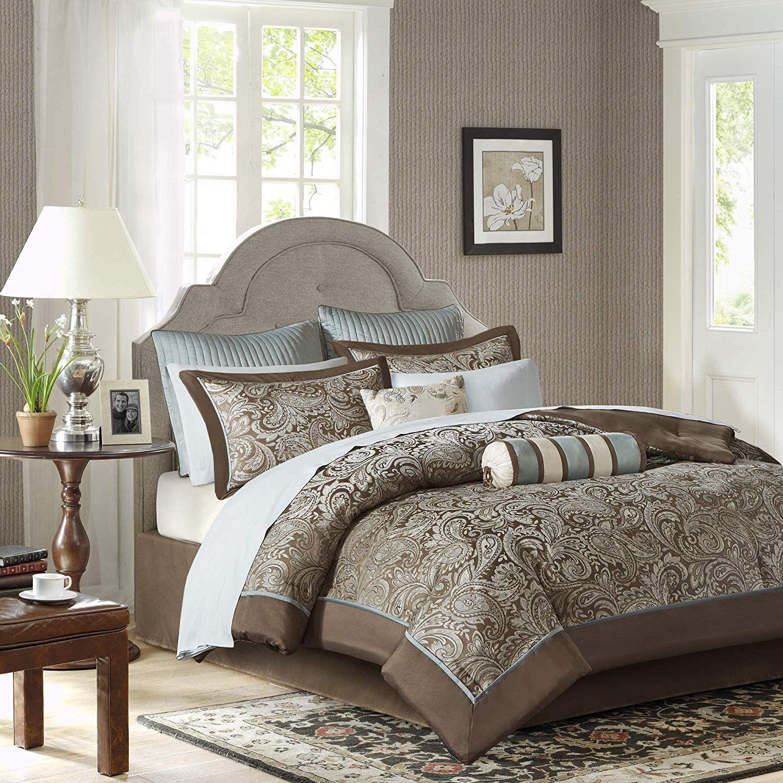 Madison Park Aubrey King Size Bed Comforter Set Bed In A Bag