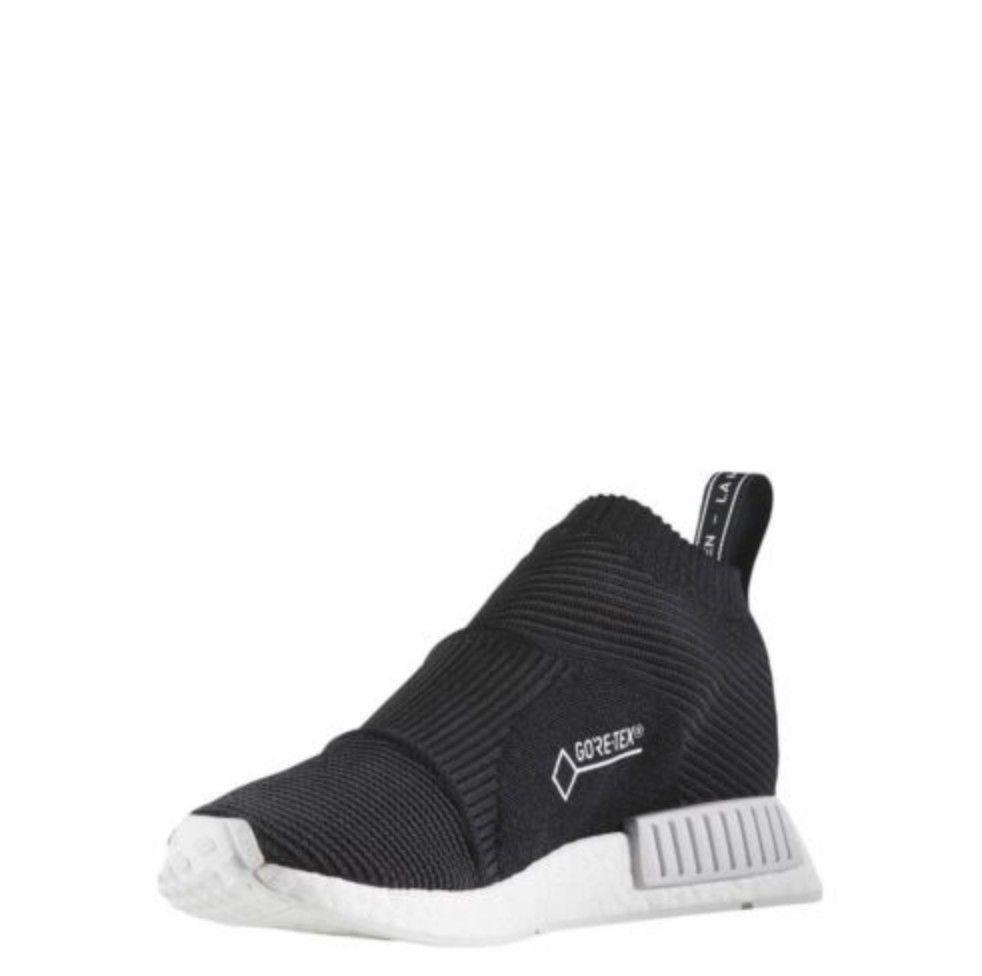 32eb3b12c  BY9405  Mens Adidas Originals NMD CS1 GTX PK Primeknit Goretex Black White   fashion