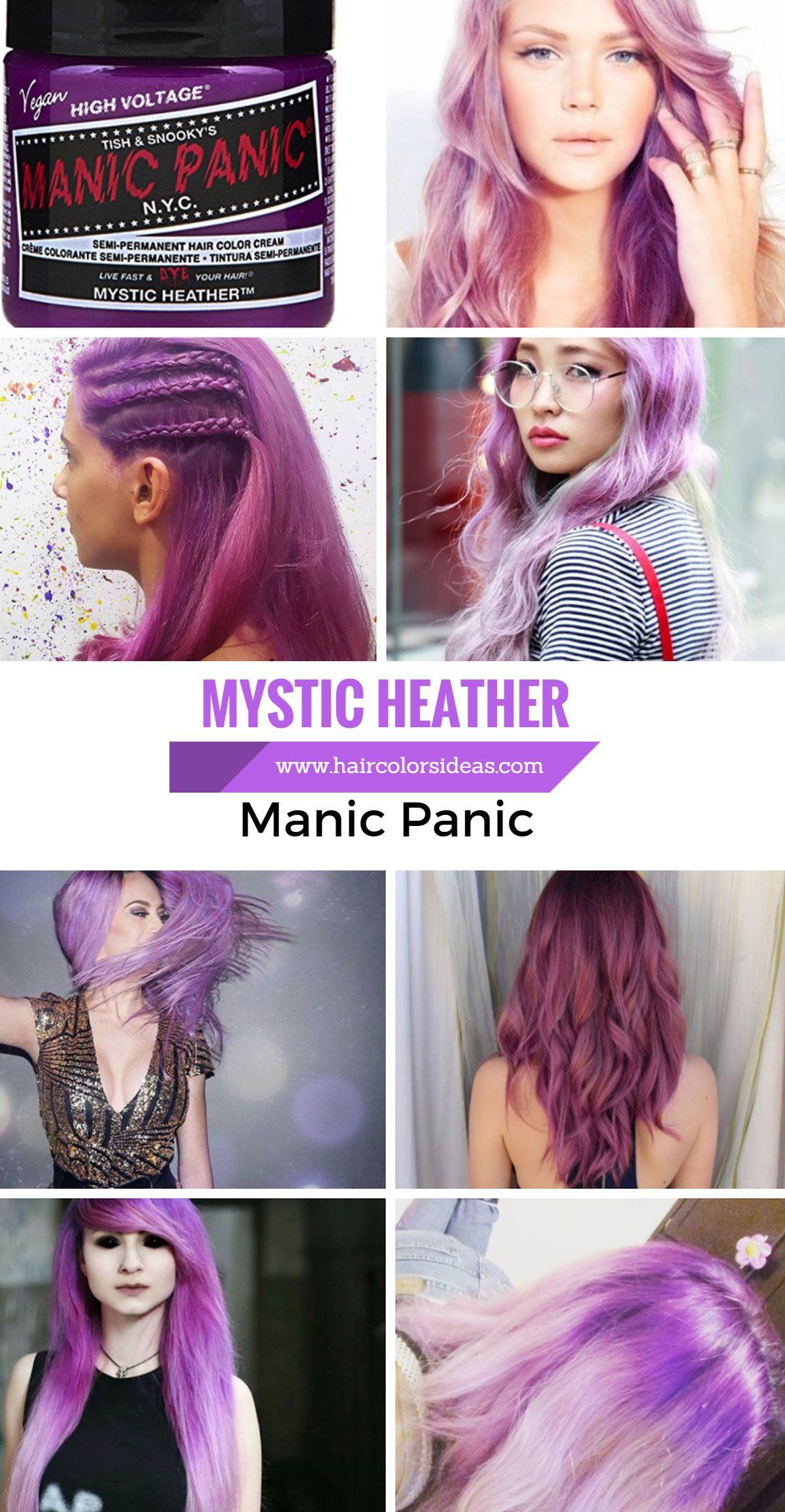 Manic Panic Mystic Heather Hair Dye Amazing Warm Purple Hair