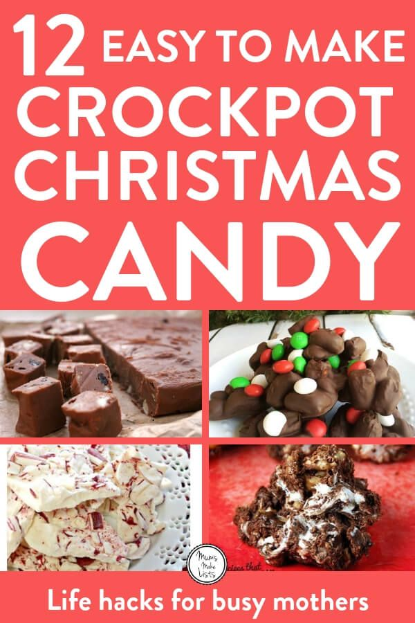 Easy Christmas Candy.Easy Christmas Crock Pot Candy Recipes Food Easy