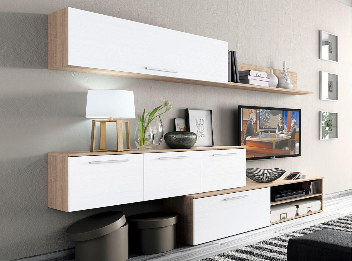 Muebles de salon modelo abril 1 muebles la fabrica - Modelos de muebles de salon ...