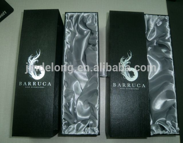 Source High Quality Luxury Custom Hair Extension Packaging Box On M