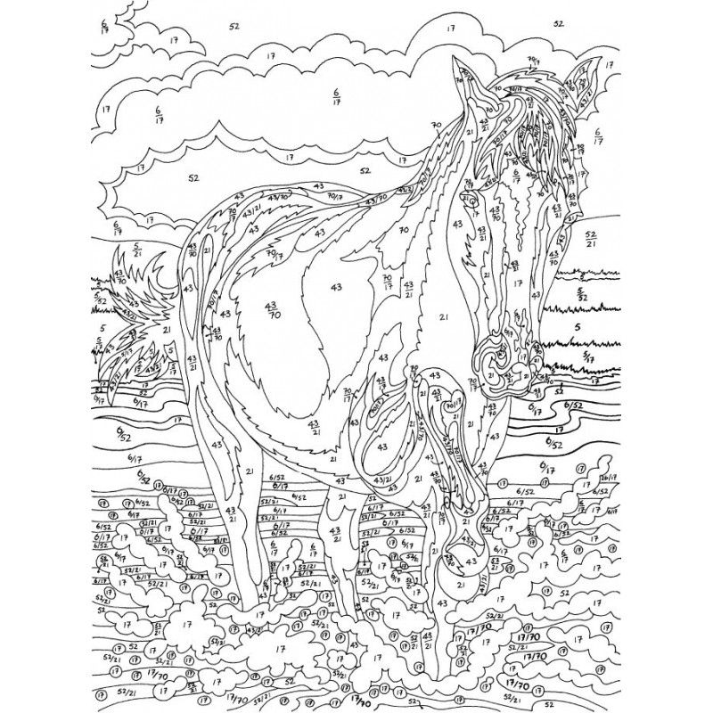Pin Auf Adult Coloring By Number