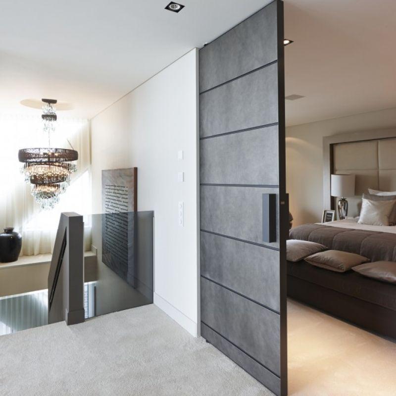 Magnificent FritsJurgens PivotDoors Created by the Dutch door - schlafzimmer bad hinter glas loft wohnung