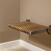 Teak Fold Up Shower Seat Jack London Teak Shower Seat Teak