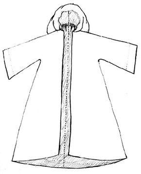 Robe de bure   Patron, Déguisement chevalier, Idées de déguisement