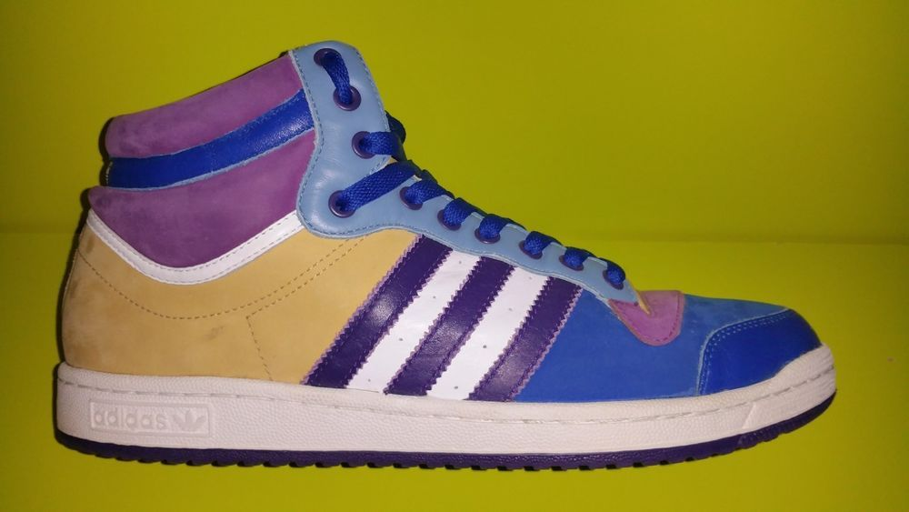 ADIDAS Size 13 Top Ten Hi 058219 Purple