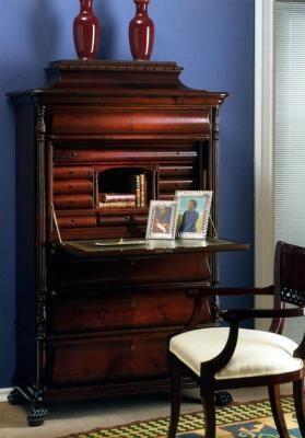 escritorio, secreter, buro, muebles auxiliares