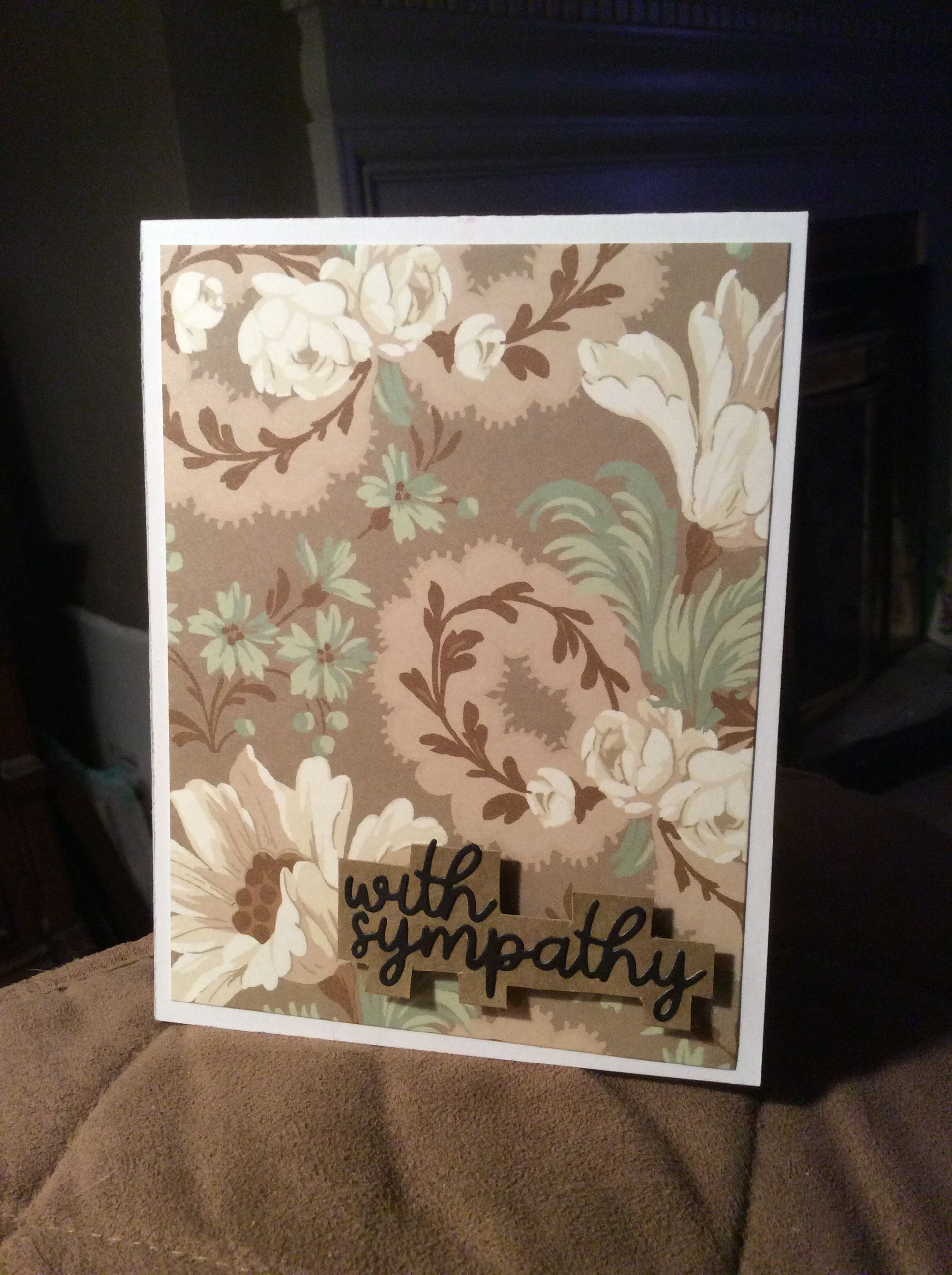Anna Griffin paper Embossed sentiment by Papertrey Ink on craft