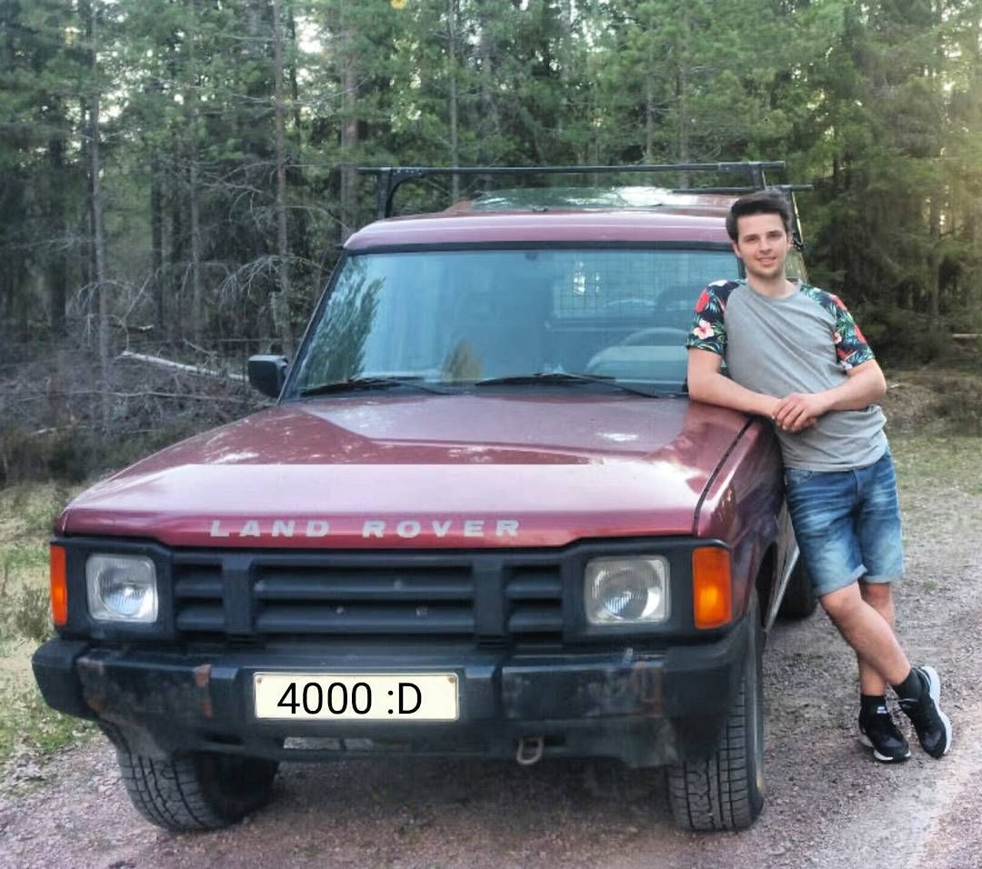 hight resolution of check the custom number plate landrover discovery