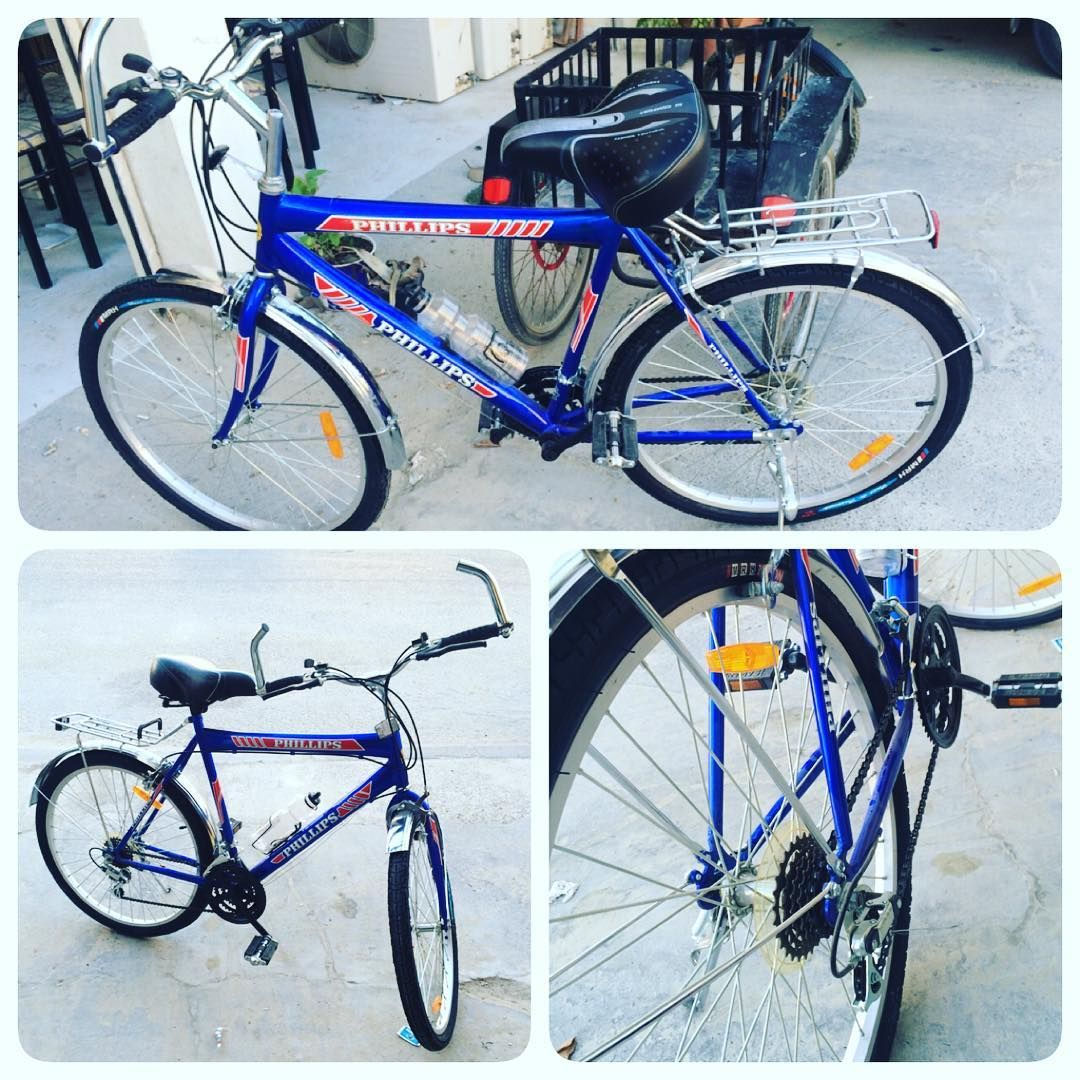 For Sale Bicycles Phillips 26 Blue Color Good Condition Price 36 Bd للبيع للبيع سيكل لون ازرق بحالة ممتازة استخدام بسيط السعر 36 B Bicycle Vehicles