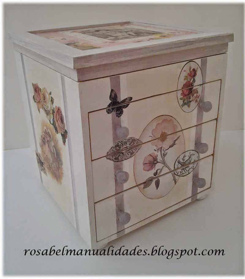 Cajas decoradas cajas decoradas es facil y cajas - Manualidades cajas decoradas ...