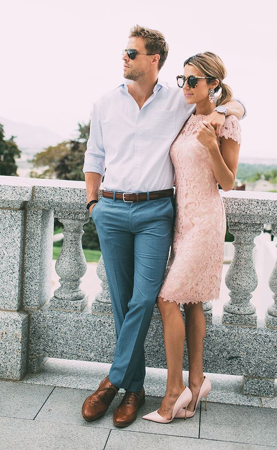 Outfits para vestir de fiesta con tu pareja http