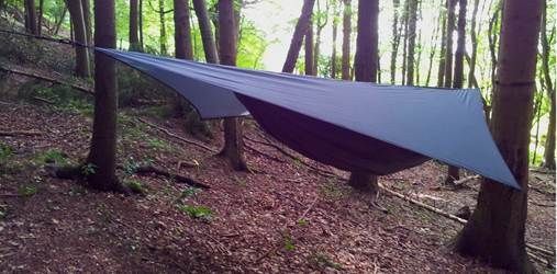Bushcraft sessions and camping in Hennessy Hammocks in the woods! Up to 30 Hammocks available for groups! Sleep under the stars and camp on open fires!