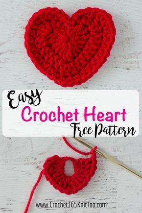 Crochet Heart Pattern Free Crochet Heart Patterns Heart Patterns