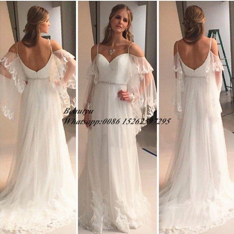 font-b-Flowy-b-font-Long-font-b-Beach-b-font-Wedding-font-b-Dress ...