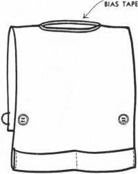 how to make a cobbler apron