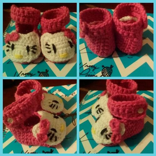 Free Pattern For Hello Kitty Applique And Mini Bow Amigurumis