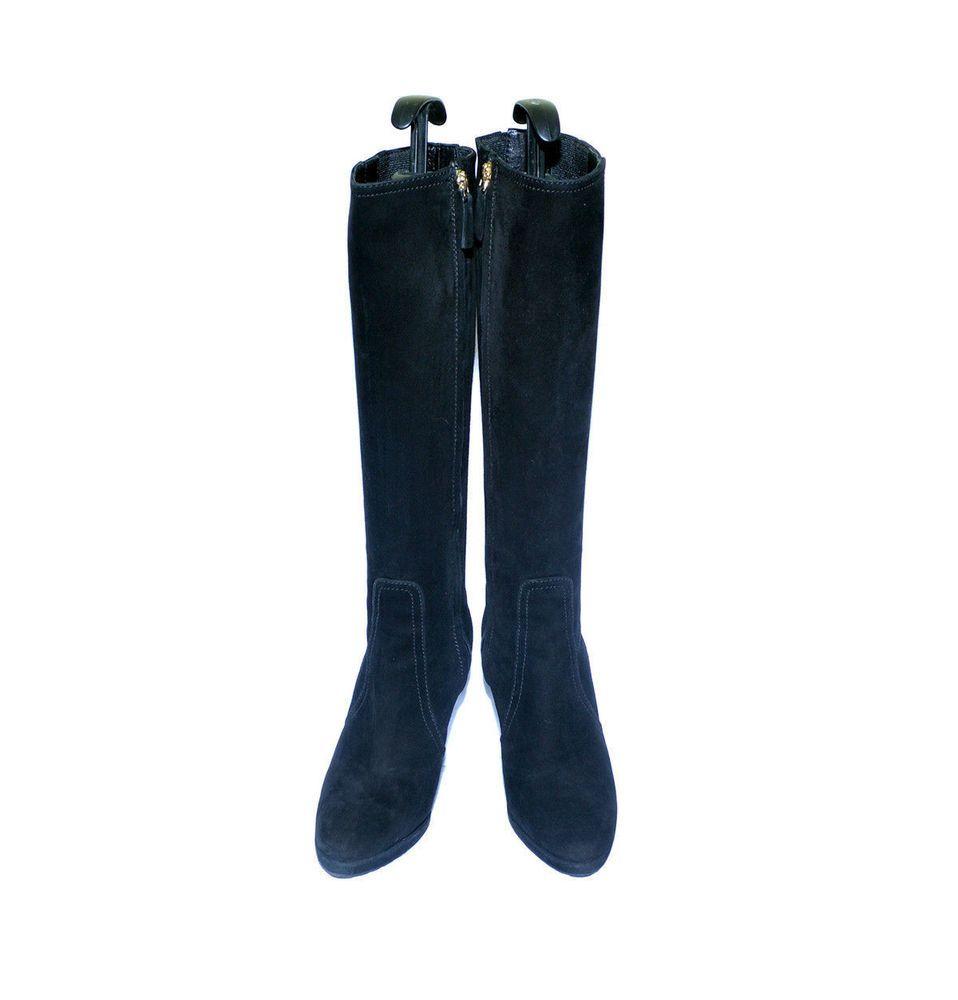 Luxury VALENTINO GARAVANI Suede High - Heels Knee - High Fashion Boots  #Valentino #FashionKneeHigh