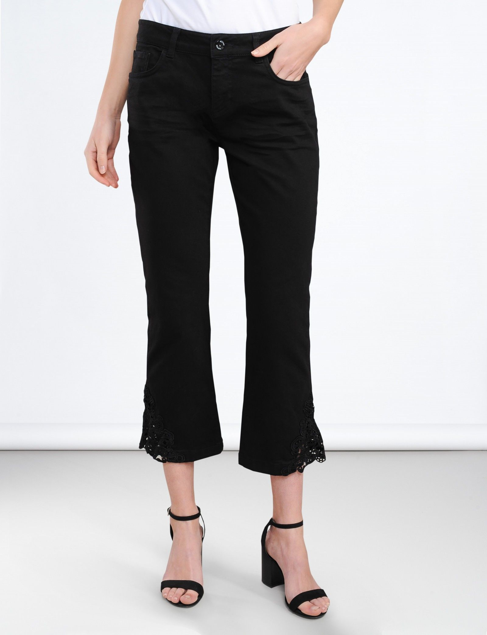 ed99c2ab5c4fd6 Jeans met kant - Broeken - Shop - Summum Woman Online Shop ...