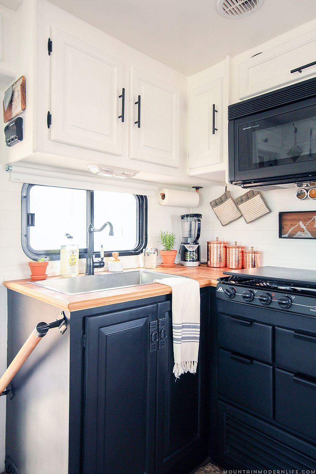 Modern Interior Ideas For RV Camper 37 | Pinterest | Rv campers ...