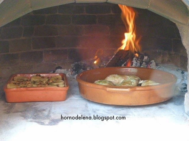 Cazuelas de barro en horno de le a cocinar trucos y - Cocinar en horno de lena ...