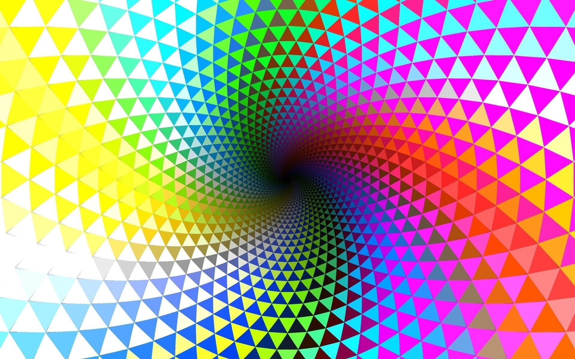 line rotation mind teaser psychedelic wallpaper