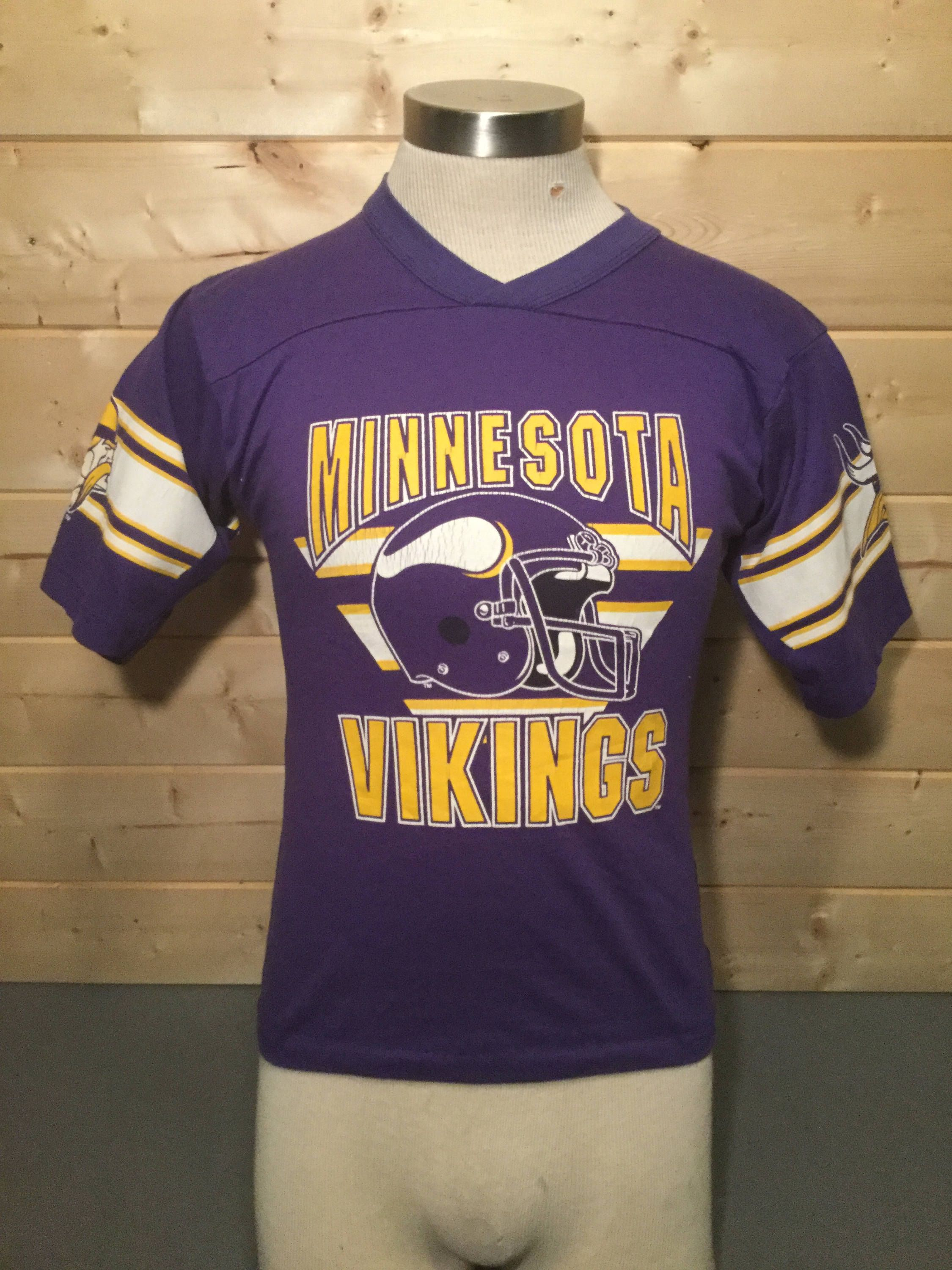 Vintage 1980 s Minnesota Vikings Jersey 50 50 T-Shirt by 413productions on  Etsy e6aa7b5c9