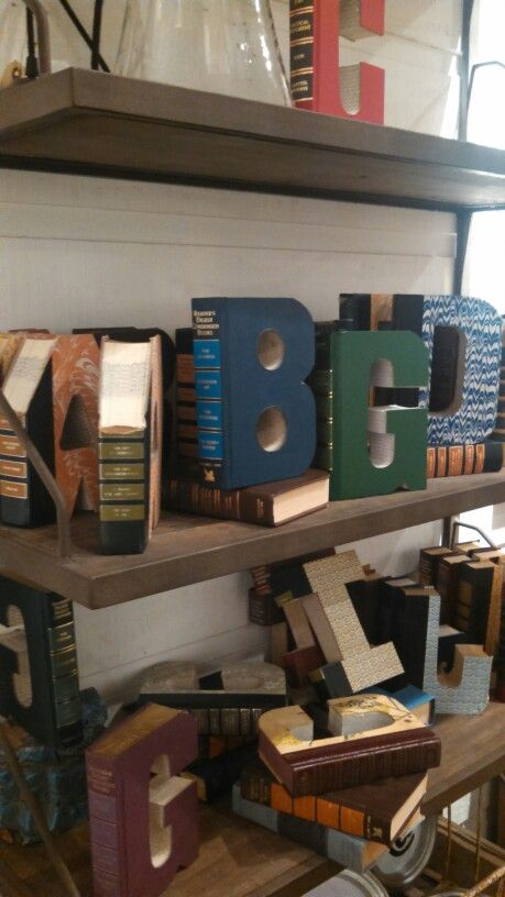 Recycle old books cut out letters interesting things pinterest recycle old books cut out letters spiritdancerdesigns Gallery
