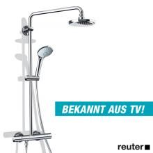 Grohe Euphoria Wall Mounted Shower System With Shower Arm 450 Mm 27296001 Reuter Onlineshop Systeme D