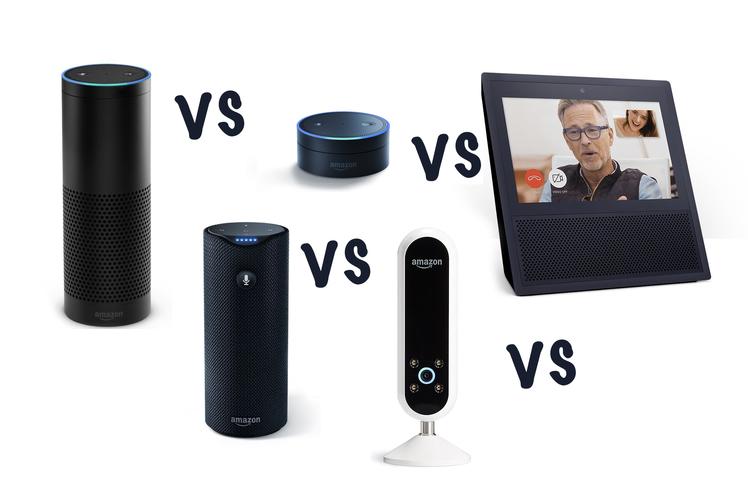 Amazon Echo Vs Plus Vs Studio Vs Dot Vs Show What S The Difference Amazon Echo Amazon Echo