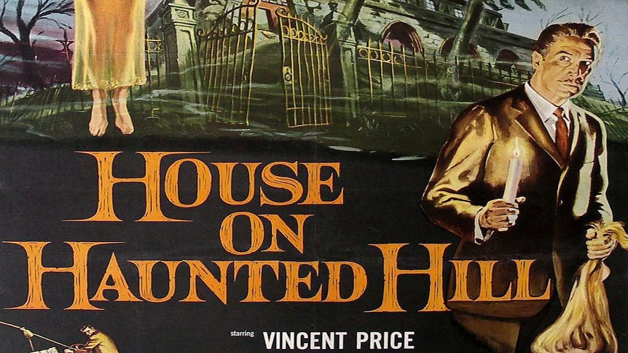House On Haunted Hill 1959 Vincent Price. (Halloween