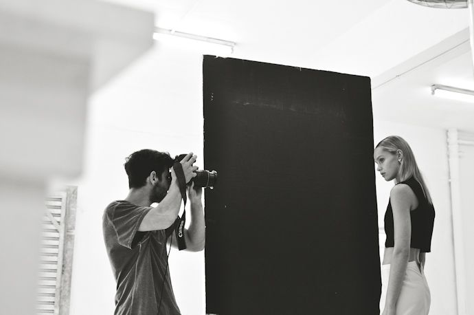 Behind the scenes: Nick Coutts for MRP http://www.elle.co.za/new-cool/ Photo by Niquita Bento