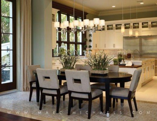 Kitchen Beautiful Cabinets Gorgeous Windows Beautiful Marc Michaels Interior Design Inc Dining Interior Dining Room Design Dining Room Decor