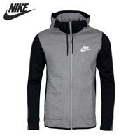 Original New Arrival 2017 NIKE NSW AV15 HOODIE FZ FLC Men s Jacket Hooded  Sportswear a3dd7979a1e1