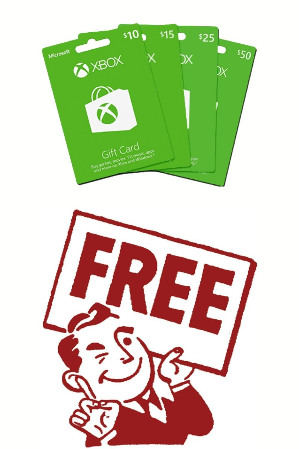Free xbox gift card in 2021 xbox gift card get gift