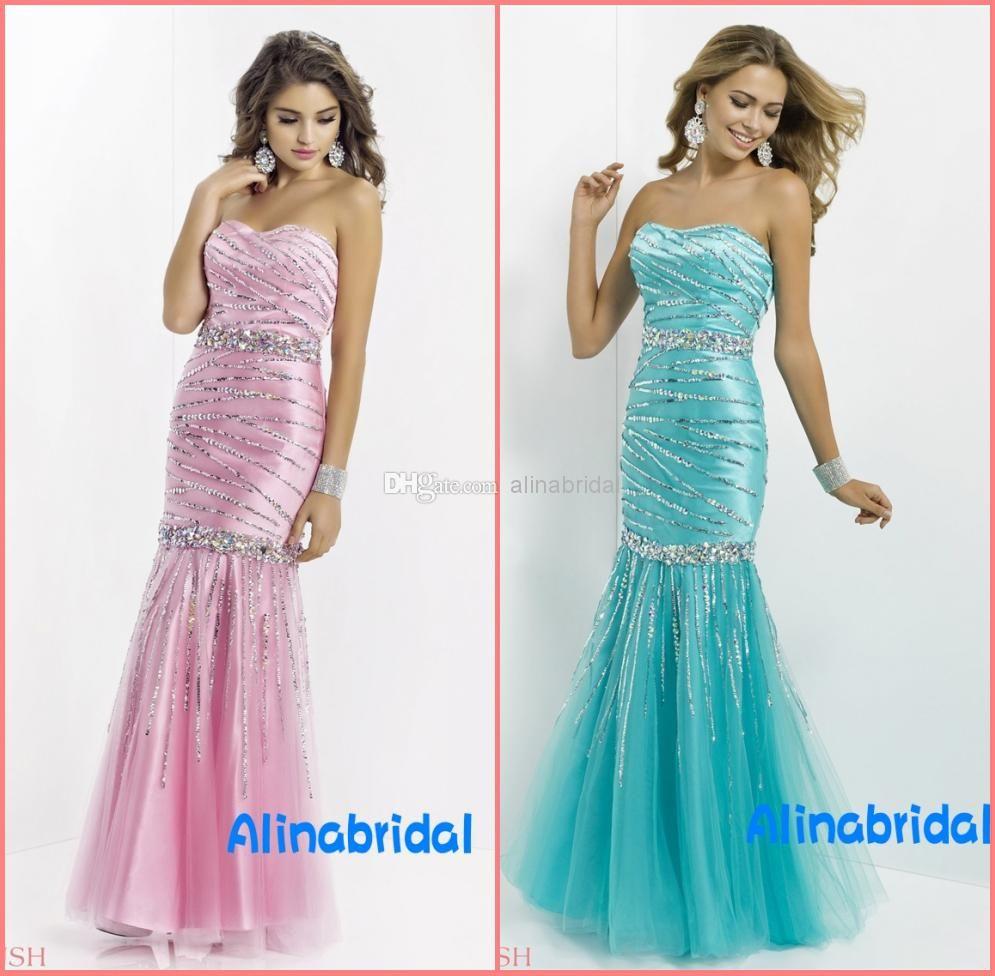 Wholesale Prom Dresses - Buy New Arrival 2014 Blush Prom Dresses ...