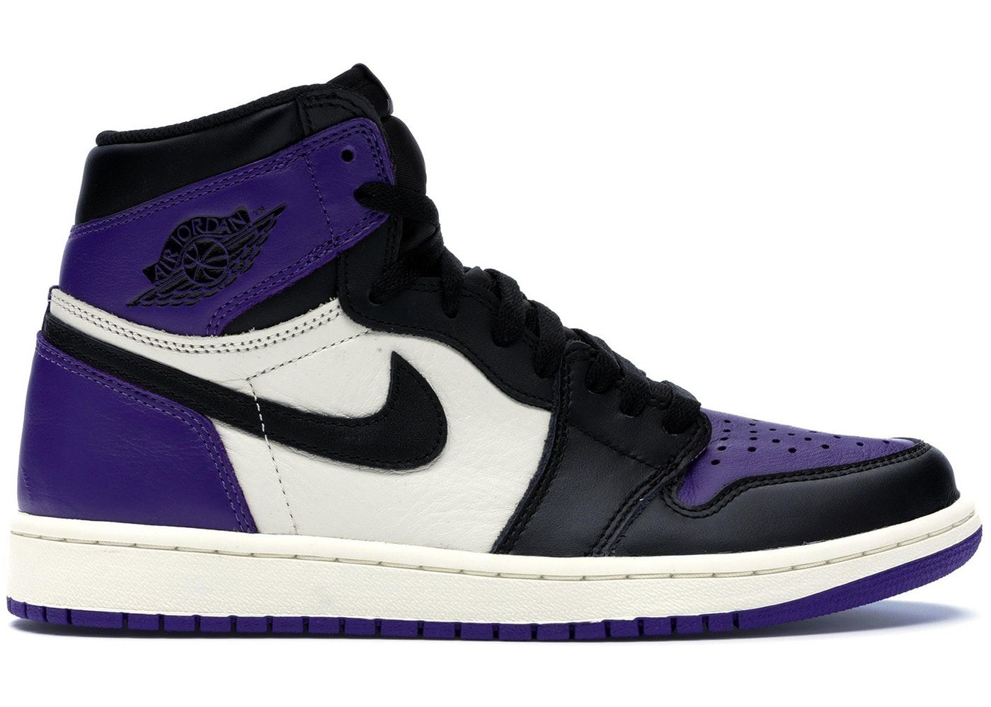 5c345f5c Jordan 1 Retro High Court Purple in 2019 | Nba | Jordans, Sneakers ...