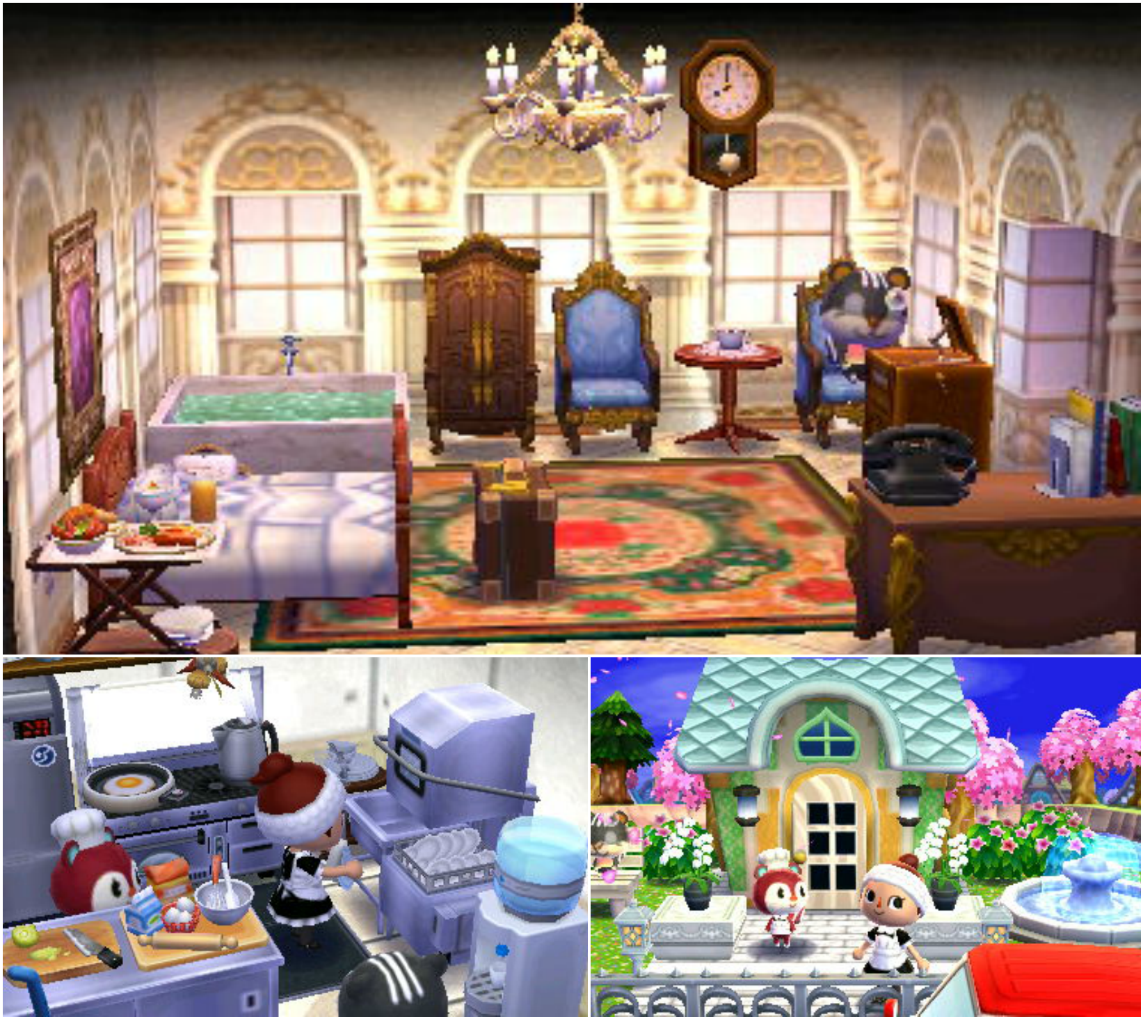 Animal Crossing Happy Home Designer Blaire A Classy Hotel Visit In Game 0804 7769 915