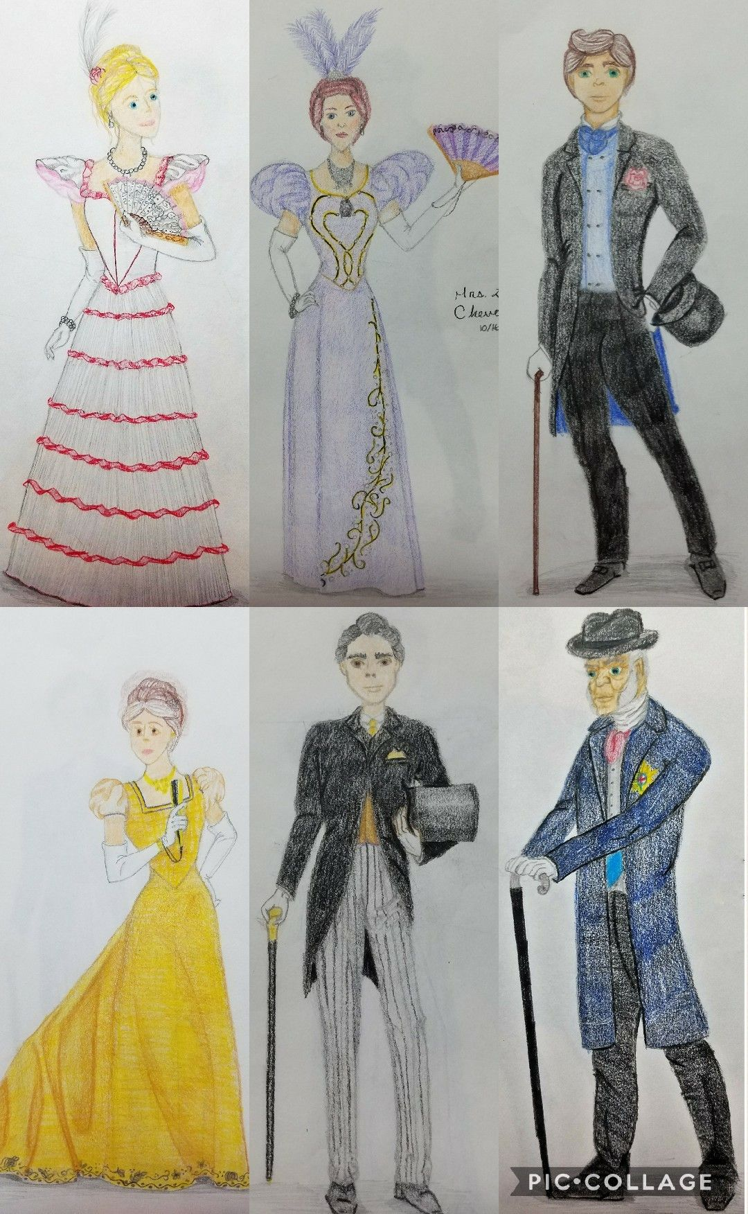 Gustavus Adolphus College Fall 2016 Costume Craft u0026 Design Course  An Ideal Husband  by Oscar Wilde Historically Accurate 1895 Act I Scene 1 (Top Miss ... & Gustavus Adolphus College Fall 2016 Costume Craft u0026 Design Course ...