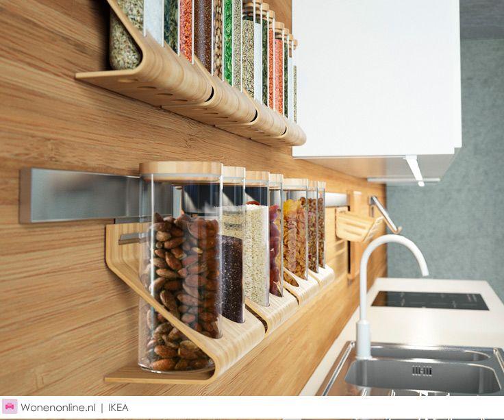 Ikea Rimforsa Ikea Keukenaccessoires Keuken Wandrek