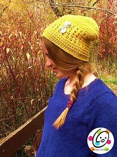 Quick Ridges Beanie (free crochet pattern)