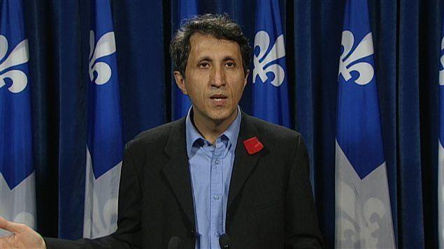 Projet de loi spéciale: Amir Khadir, co-porte-parole de Québec solidaire, invite à « réfléchir à la désobéissance civile »