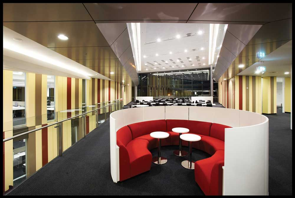Macquarie University Library Interior