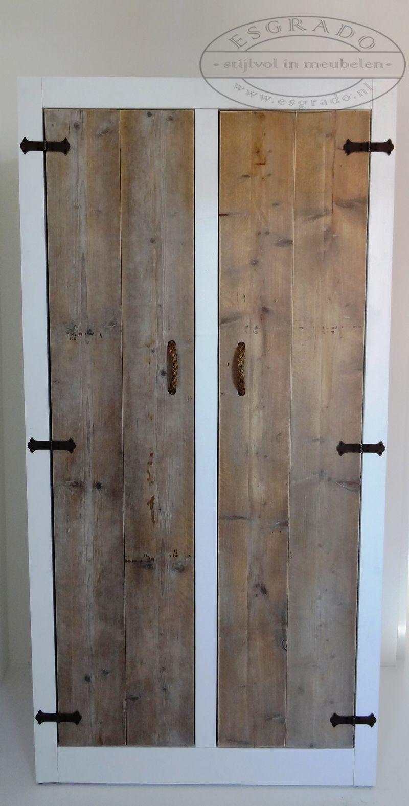 steigerhouten kast - Steigerhouten meubels op maat | Pinterest ...