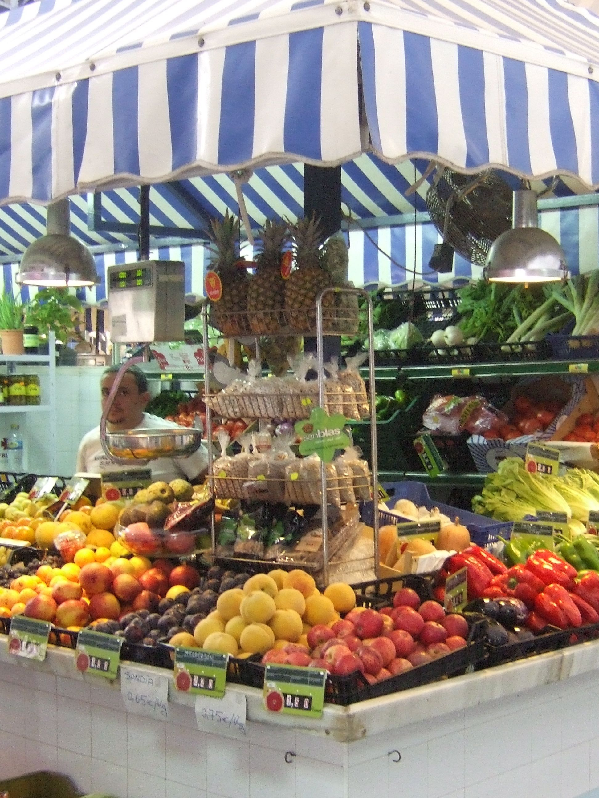 My favourite fruit and vegetable stall El mercado Ayamonte