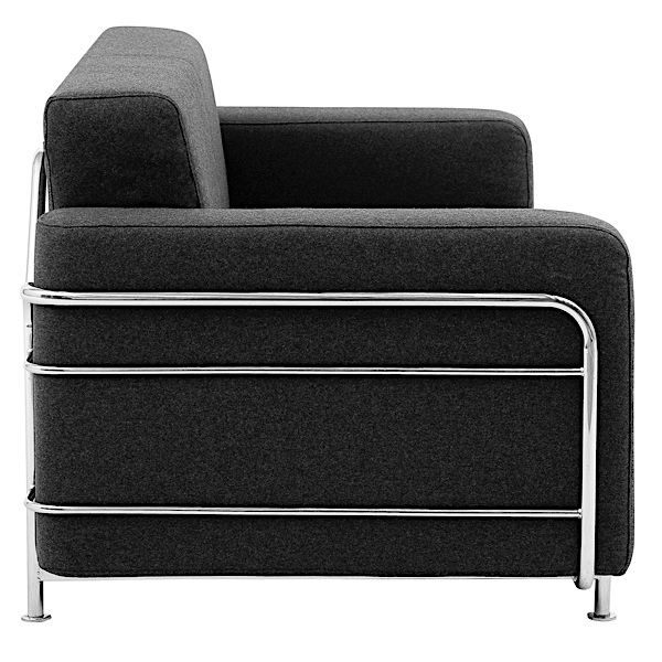 SILVER uma poltrona conversível, projetado para pequenos espaços, confortável, intemporal, no verdadeiro estilo escandinavo, por