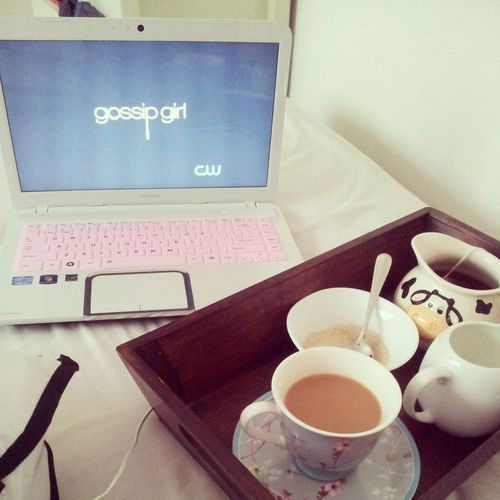 Imagem de gossip girl, tea, and coffee
